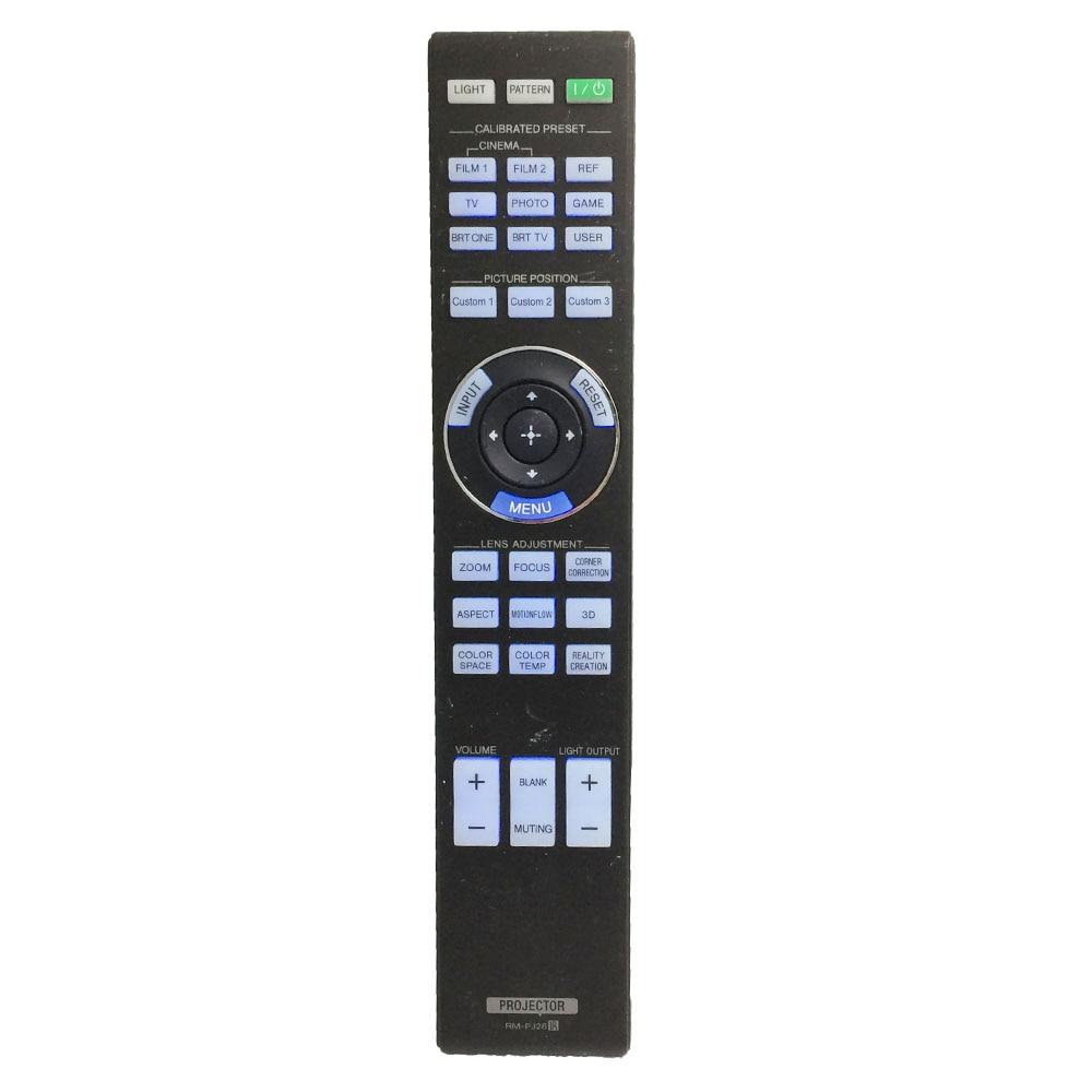 EntrüCkung Rm-pj26 Für Sony 4 Karat Ultra Short-throw-projektor Fernbedienung Lspx-w1s Lspx-w1/1 Dauerhafter Service Unterhaltungselektronik