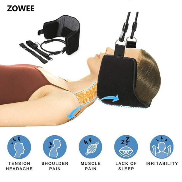 Zowee Dropshipping Beauty growing Head Hammock for Neck Portable Relaxation Supporter Neck Hammock