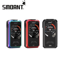 Original 225W Smoant Charon Mini TC Box MOD with New Ant225 Chip & 2.0 Inch TFT Colorful Screen No 18650 battery VS Cylon