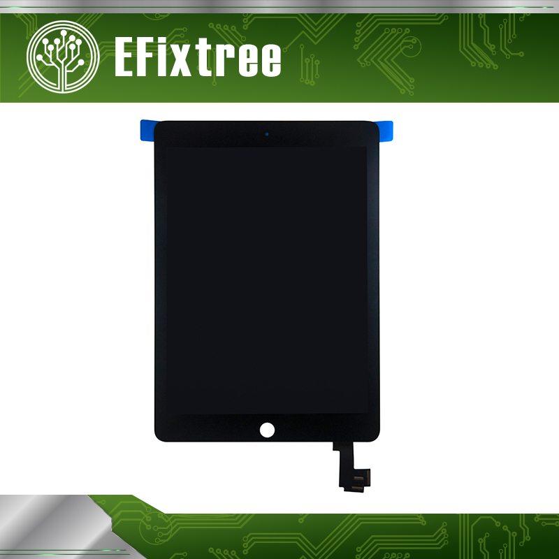 цена New A1567 A1566 LCD Screen For iPad Air 2 For iPad 6 LCD Assembly Touch Screen Display Digitizer Assembly Black White