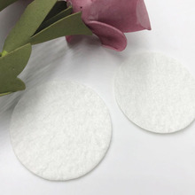 The 50pcs Felt 40mm Circle Appliques -White Color Free Shipping