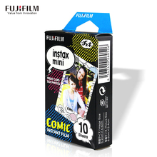 10 Sheet Film Photo Paper Fuji Fujifilm Instax Mini 8 Instant White Edge 3 Inch Wide For Instax Mini8 7s 25 50s 90 camera Comic