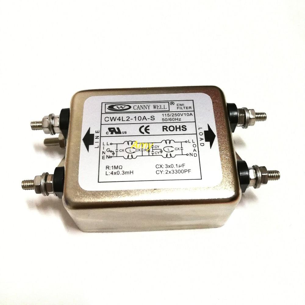 Taiwan power filter CW4L2-10A-S 220V power filter purifier