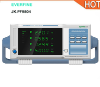 Everfine цифровой измеритель мощности PF9804 постоянного и переменного тока параметр тестер верхний и нижний предел сигнализации функция