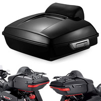 Triclicks 5.5'' Razor Tour Pak Luggage Tour Pak Pack Trunk For Harley Touring Road King Electra Glide 2014 2018