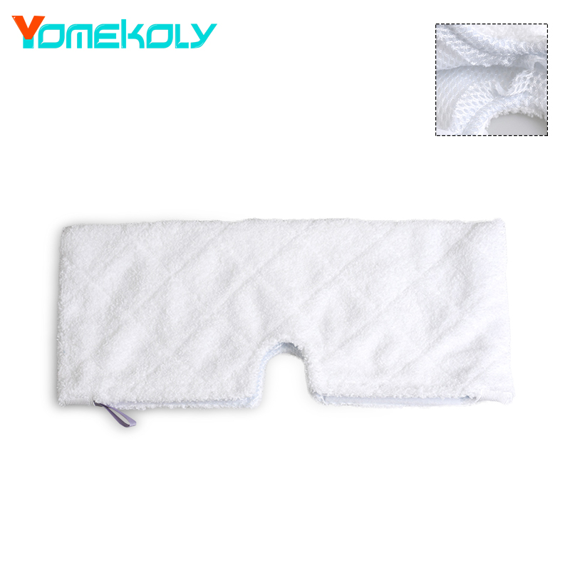 Steam Mop Replacement Microfiber Pocket Pads For Shark Steam Pocket Mop S3901 Cleaner Parts For Home WASHABLE Mop Cloth cover 4 pcs white microfibre steam mop cleaning floor washable replacement pads compatible for x5 h20 series dust cleaner part