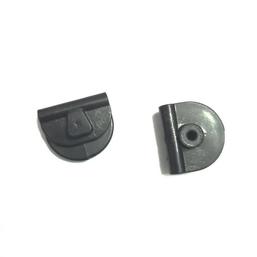 Black Battery Left Side Cover Button Clips For Harley