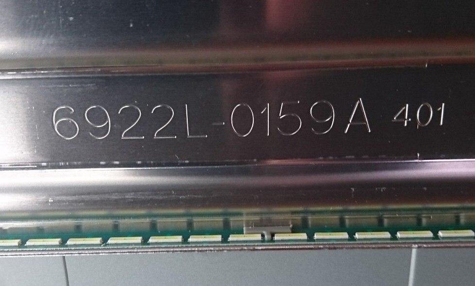 Image 5 - New Kit 2 PCS 60LED LED backlight strip for LG 55UF6450 55UH6150  55UF6430 6916L2318A 6916L2319A 6922L 0159A 55UH615V 55UF770VReplacement  Parts