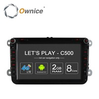 4G SIM LTE Network Ownice C500 Octa 8 Core Android 6 0 2G RAM 2 Din