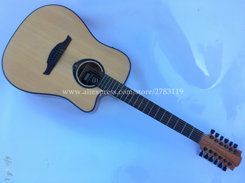 12 Strings guitar,Cutaway 41