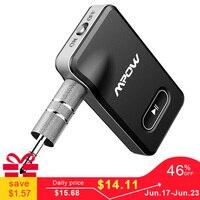 Mpow B129 беспроводной аудио адаптер Bluetooth 4,1 приемник автомобильный комплект с 3,5 мм Aux/jack стерео выход для автомобиля домашний Динамик Наушники