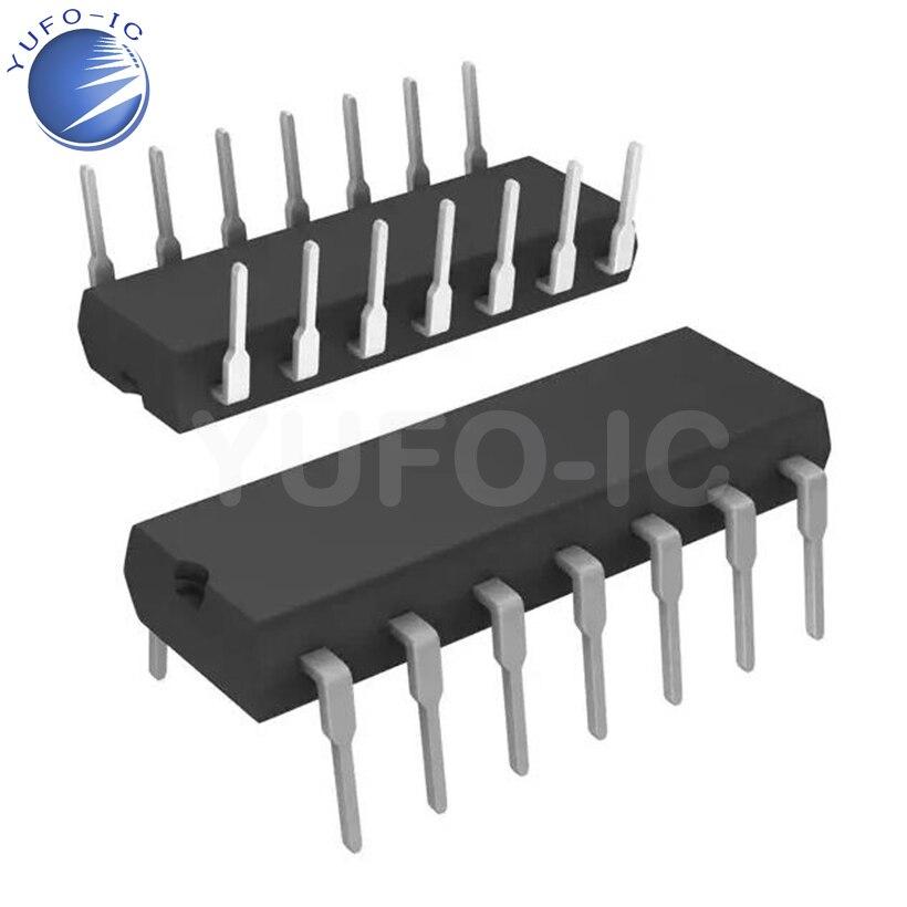 Free Shipping LM339 LM339N DIP-14 Four-precision voltage comparators IC x10PCS/L