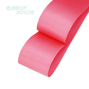 (5 meters/lot) 40mm Preach Red Grosgrain Ribbon Wholesale gift wrap Christmas decoration ribbons(China)