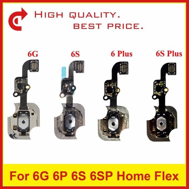 sports shoes 6288b 3719d US $7.35 |5Pcs For iPhone 6 6G 6 Plus 6S 6S Plus Home Flex Assembly Home  Button Flex Cable Sensor Replacement Repair Part-in Mobile Phone Flex  Cables ...