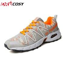 Zapatos de primavera y Otoño Nuevos Hombres de la Marca Al Aire Libre Ligeros Zapatos Casuales Hombres Con Cordones Ocasionales Respirables Zapatillas de Deporte Tamaño de Los Zapatos 39-45