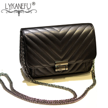 LYKANEFU Crossbody Taschen Frauen Tasche Messenger Bags PU Material Handtaschen Frauen Berühmte Marken Bolsos Sac ein Haupt Femme de Marque