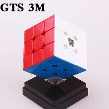 Moyu weilong gts 3 m 3x3x3 Магнитный куб gts3 скоростной профессиональный