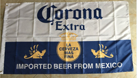Corona Beer Flag Banner 3x5FT 100D Digital Printing Event Decoration Bar Oktoberfest Free Shipping