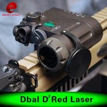 Element Airsoft lampe de Poche IR Laser Led Torche DBAL-EMKII Multifonction Tactique IR illuminateur DBAL-D2 Batterie Cas EX328