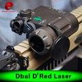 Elemento Airsoft IR Lanterna Led Laser Tocha DBAL-EMKII w/Caixa de Bateria Multifuncional Tactical iluminador IR DBAL-D2 EX 328