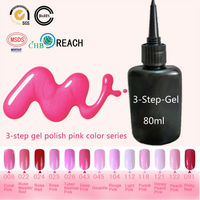 13 Sweet Pink Colors Blinkingel 80ml French Manicure Nail Art Salon UV Gel Varnish Are Suitable