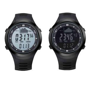 "Image 5 - מקורי 22 מ""מ שחור סיליקון גומי שעון רצועה עמיד למים ספורט צפו בנד עבור WristsWatch Spovan מנהיג 2/SPV709/ SPV710"