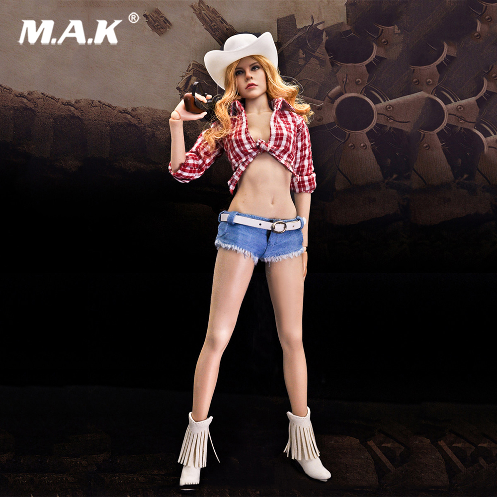 1/6 Scale Jessica Fox Sexy Cow Girl Suits for Female 12 inches Action Figure Toys jessica farm 1