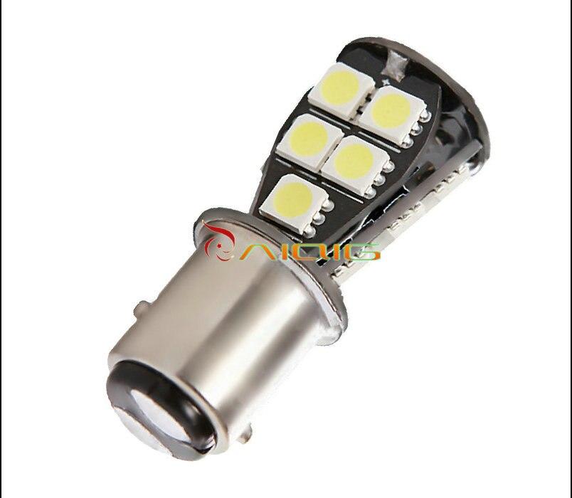 1157 BAY15D 18 SMD CANBUS ОШИБОК светодиодные лампы P21/5 Вт светодиодных ламп автомобиля сзади стоп-сигналы автомобиля источник света парковка 12 В
