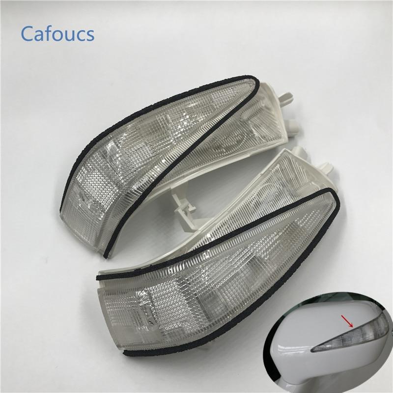 купить Cafoucs Car Led rearview side mirror turn signal indicator lights rear view mirror lamp for honda civic 2006-2011 FA1 FD1 FD2 дешево