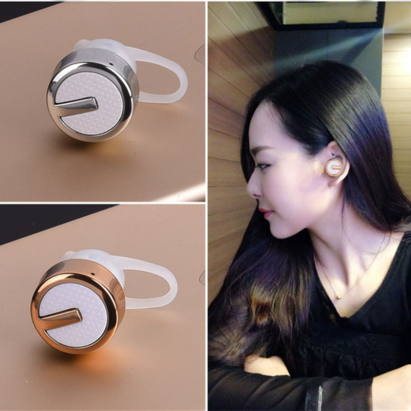 Mini Stereo Bluetooth Headset Wireless V4.1 Bluetooth Handsfree Headphones earphone Universal for iphone Samsung all phones wireless headphones bluetooth earphone suitable for iphone samsung bluetooth headset 4 2 tws mini microphone