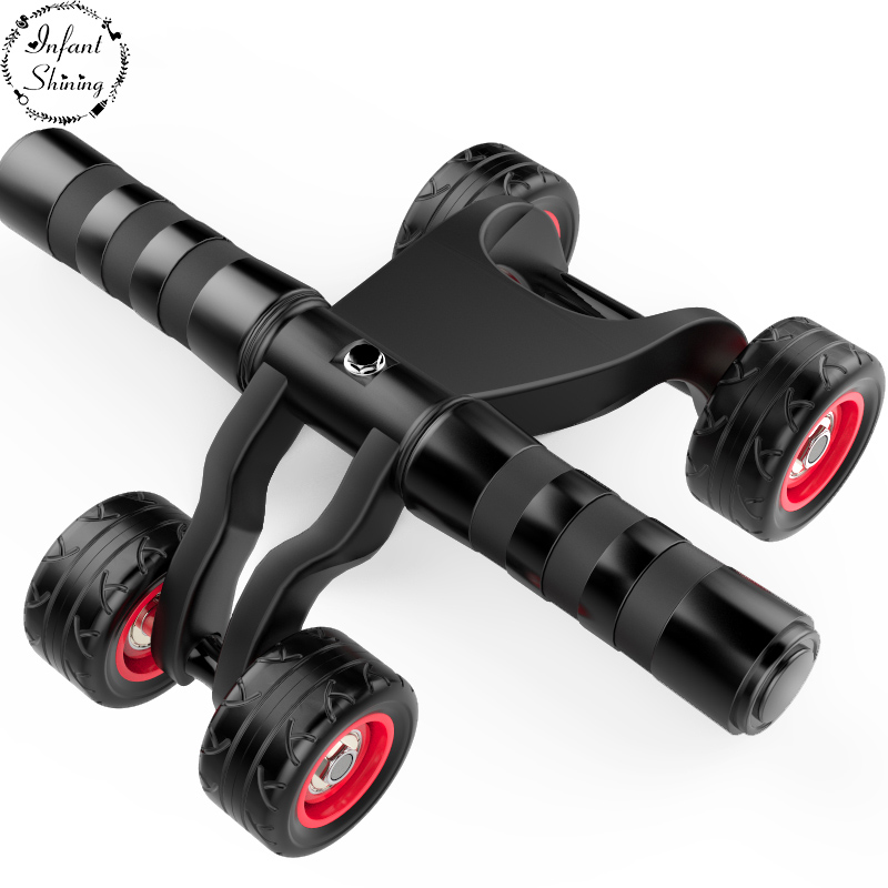 New Abdominal Abs Wheel Fitness Equipmen