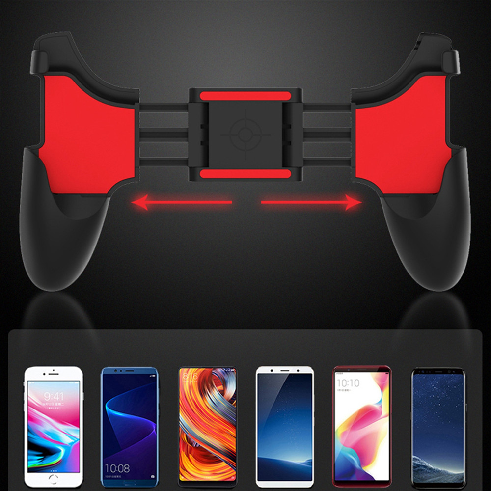Mobile Phone Game Controller Holder Gamepads Handle Grip Clip Stand For iPhone 8 plus Smartphone Gaming Joystick Mount Bracket smartphone