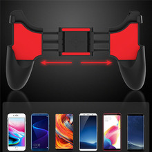 Cep telefonu oyun denetleyicisi tutucu oyun klavyeler kolu kavrama klip standı iPhone 8 için artı Smartphone oyun Joystick montaj braketi