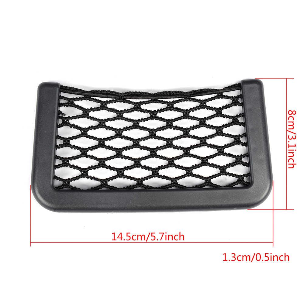 Evrensel araba depolama Net otomotiv cep düzenleyici çantası telefon tutucu Box tüm araba aksesuarları 15*8cm