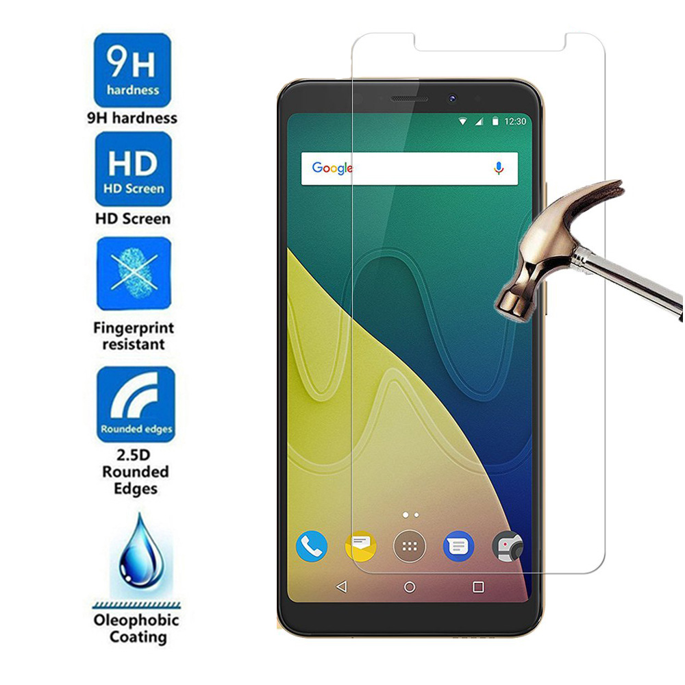 9H Tempered Glass for Wiko VIEW XL GO Prime Lite Max Screen Protector for Wiko VIEW 2 Pro GO Plus Pro U FEEL FAB Protective Film