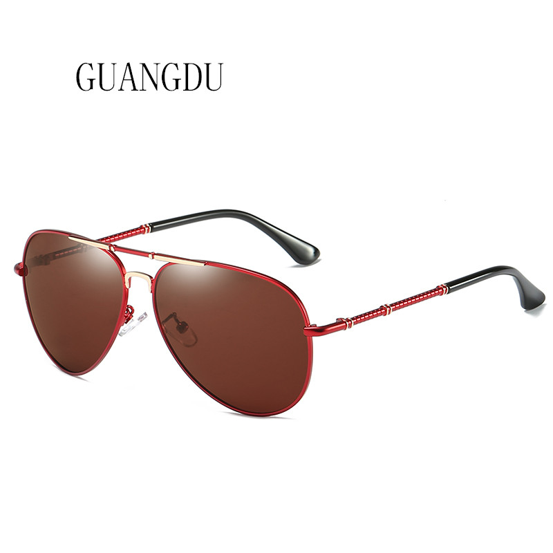 Vintage Aluminum HD Polarized Sunglasses Men New Fashion Eyes Protect Sun Glasses Fishing Drivers Glasses High Quality