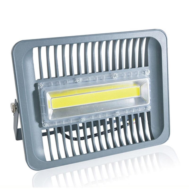 LED Flood Light 30W 50W 100W 110V 220V IP65 WaterProof Smart IC Driver Spotlight Outdoor Wall Lamp Cold White Warm White EU Pulg