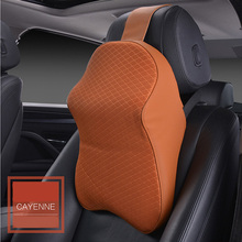 3D Car Headrest Neck Pillow Cushion For Auto Seat Cover Accessories