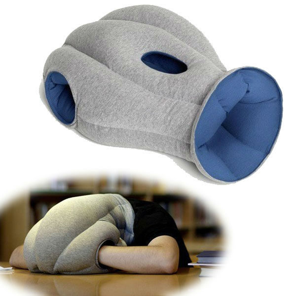 new 2013 novelty households innovative items ostrich mask shape pillow cute funny cushion decorate car office travel neck nap
