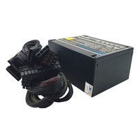 400W Power Supply for PC 400W Computer ATX PSU Computer Max 500W PC Power Supply Computer PC CPU Power Supply 20+4pin 80mm Fan