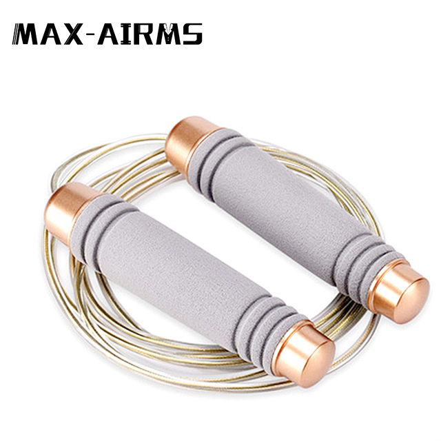 Maxairms crossfit Jump Rope Ultra-speed Ball Bearing Skipping Rope Steel Wire jumping ropes for Boxing MMA Gym Fitness Training(China)