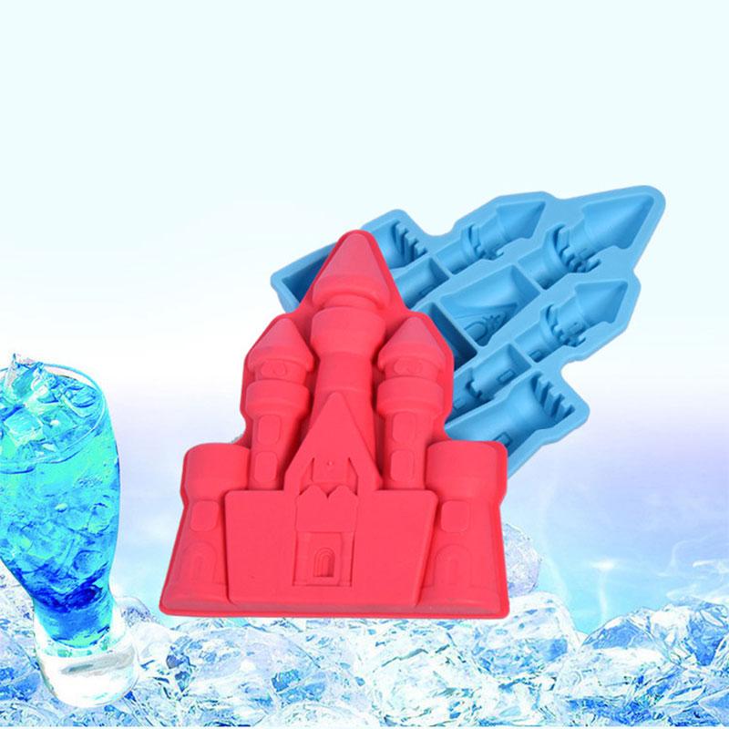 Silicone Ice Ball Cube Plateau Gel Moule Gelée Pudding chocolat Mold Maker GA