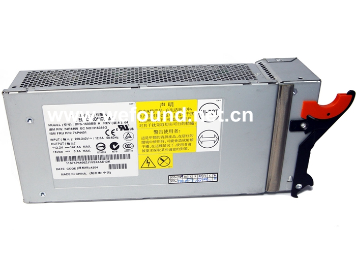 100% working power supply For HS20 74P4400 74P4401 DPS-1600BB A 1800W, Fully tested. cracewell 15g