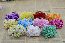 6 шт./букет 3 см Искусственные цветы головной убор небольшой браслет украшен цветком корсаж конфеты коробка товары первой необходимости
