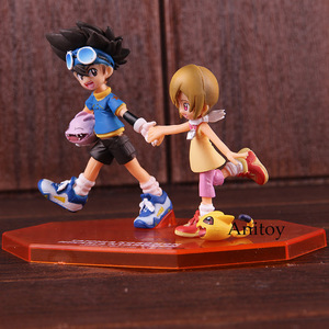 Image 3 - อัญมณีผจญภัยDigimon MonsterดิจิตอลTaichi Yagami Koromon Hikari Yagami Nyaromon PVC Action Figureของเล่นสะสม