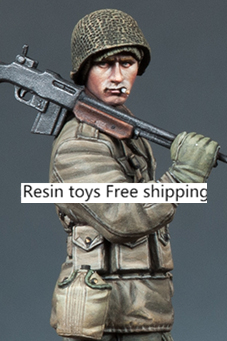 pre order-Resin toys 35169 WW2 US BAR Gunner Free shipping pre order resin toys l0117 us oif soldier at rest free shipping