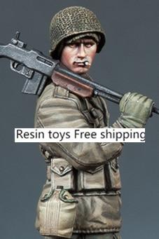 pre order-Resin toys 35169 WW2 US BAR Gunner Free shipping цена