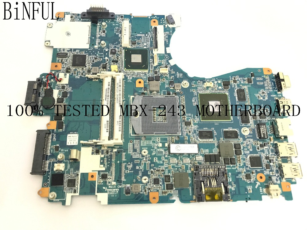 BiNFUL AVAILABLE 100% NEW TESTED V081_MP_MB MBX-243 LAPTOP MOTHERBOARD FOR SONY VPCF23 NOTEBOOK PC (NOT SUPPORT 3D FUNCTIONS )BiNFUL AVAILABLE 100% NEW TESTED V081_MP_MB MBX-243 LAPTOP MOTHERBOARD FOR SONY VPCF23 NOTEBOOK PC (NOT SUPPORT 3D FUNCTIONS )