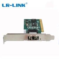 LR LINK 7020PF ST PCI 100Mb optical fiber network lan card ethernet server adapter desktop pc nic