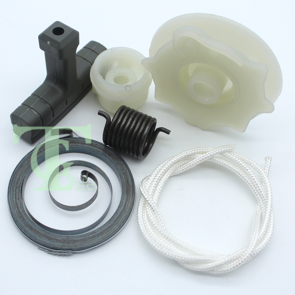 Recoil Starter Start Pulley Spring Repair Kit For Husqvarna 137 142 235 236 240 530071966 530042095 Chainsaw Engine Motor Parts
